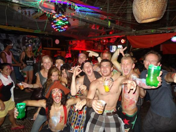 Partying in South Cambodia